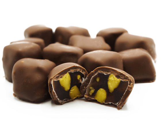 Фисташковый лукум в шоколаде