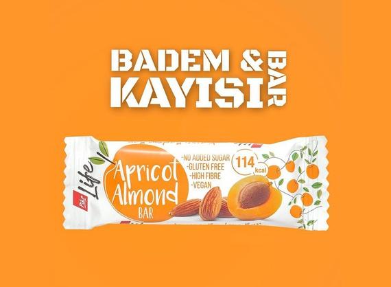 Батончик c абрикосом и миндалем