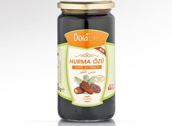 Грецкий орех и фундук в мёде
