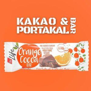 Батончик c апельсином и какао Vegan