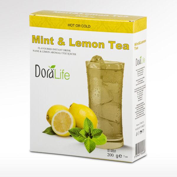 Напиток растворимый со вкусом лимона и мяты 200г