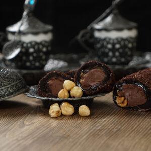 Лукум с молоком, шоколадной пастой Brownie